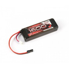 Robitronic LiFe Battery 1600mAh 2S 2/3A Straight for RX