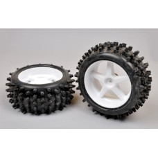 Maxi-Grip Tires with Rims 2pc