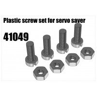 Plastic Screw set for Servo Saver 4pc