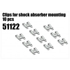 Clips for Shock Mountings 10pc