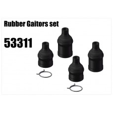 Ball Driveshaft Rubber Gaitors 4pc