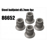 Steel Balljoint 5.7mm 4pc
